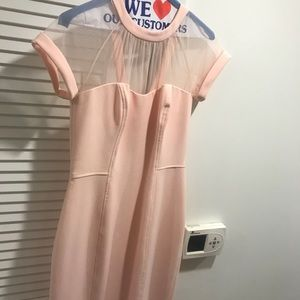 Maggy London Pink cocktail/wedding guest dress